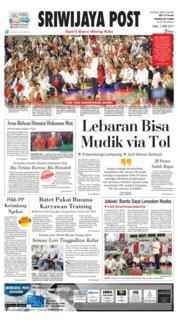 Cover Sriwijaya Post 03 April 2019