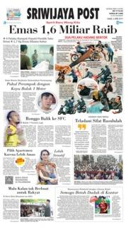 Cover Sriwijaya Post 04 April 2019