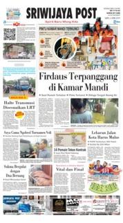 Cover Sriwijaya Post 06 April 2019