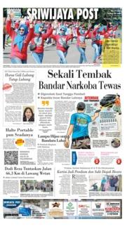 Cover Sriwijaya Post 07 April 2019