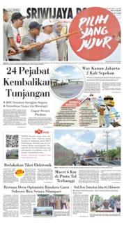 Cover Sriwijaya Post 08 April 2019