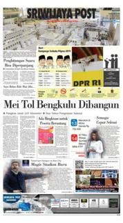 Cover Sriwijaya Post 09 April 2019