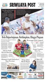 Cover Sriwijaya Post 10 April 2019