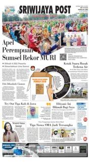 Cover Sriwijaya Post 11 April 2019