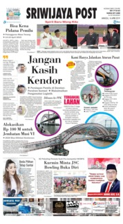 Cover Sriwijaya Post 14 April 2019