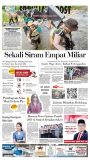 Cover Sriwijaya Post 15 April 2019
