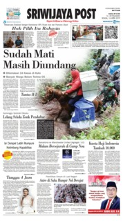Cover Sriwijaya Post 16 April 2019