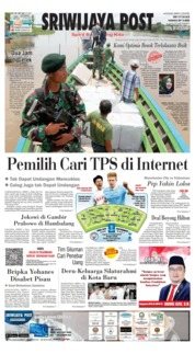 Sriwijaya Post Cover 17 April 2019