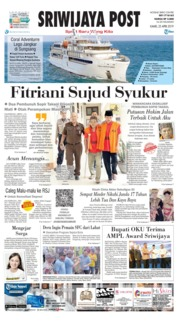 Sriwijaya Post Cover 25 April 2019