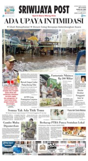 Cover Sriwijaya Post 26 April 2019