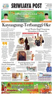 Sriwijaya Post Cover 11 May 2019