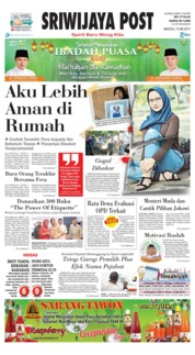 Sriwijaya Post Cover 12 May 2019