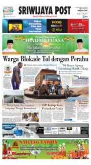 Sriwijaya Post Cover 14 May 2019