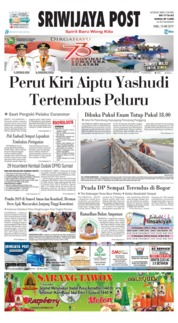 Sriwijaya Post Cover 15 May 2019