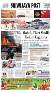 Sriwijaya Post Cover 16 May 2019