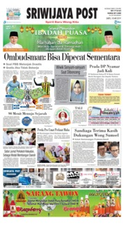 Sriwijaya Post Cover 18 May 2019