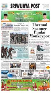 Cover Sriwijaya Post 21 Mei 2019