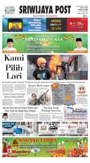 Cover Sriwijaya Post 23 Mei 2019