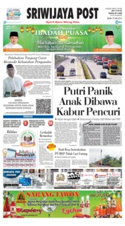 Sriwijaya Post Cover 27 May 2019