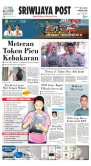 Sriwijaya Post Cover 14 June 2019