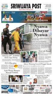 Sriwijaya Post Cover 15 June 2019