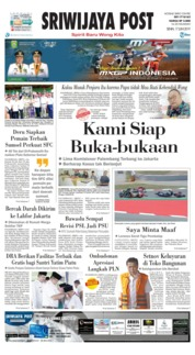Cover Sriwijaya Post 17 Juni 2019
