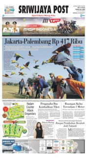 Cover Sriwijaya Post 23 Juni 2019