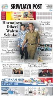 Cover Sriwijaya Post 09 Juli 2019