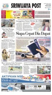 Cover Sriwijaya Post 10 Juli 2019
