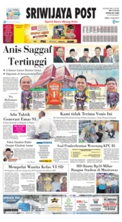 Sriwijaya Post Cover 13 July 2019