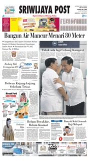 Sriwijaya Post Cover 14 July 2019