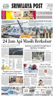 Sriwijaya Post Cover 15 July 2019