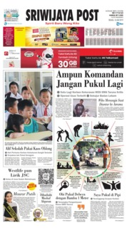 Sriwijaya Post Cover 16 July 2019