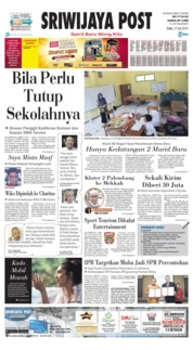 Sriwijaya Post Cover 17 July 2019