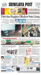 Cover Sriwijaya Post 19 Juli 2019