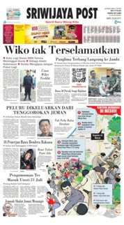Cover Sriwijaya Post 20 Juli 2019