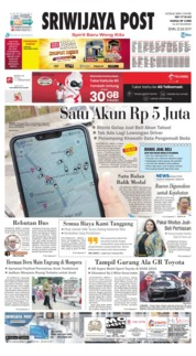 Sriwijaya Post Cover 22 July 2019