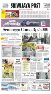 Sriwijaya Post Cover 29 July 2019