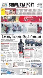 Sriwijaya Post Cover 31 July 2019