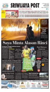 Sriwijaya Post Cover 01 August 2019