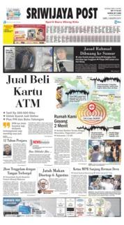 Sriwijaya Post Cover 03 August 2019