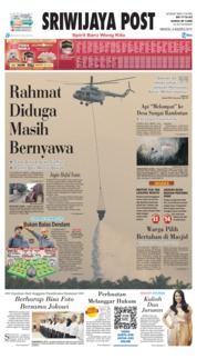 Sriwijaya Post Cover 04 August 2019