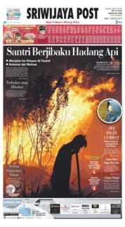 Sriwijaya Post Cover 07 August 2019