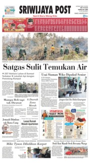 Sriwijaya Post Cover 08 August 2019