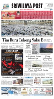Sriwijaya Post Cover 10 August 2019