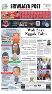 Sriwijaya Post Cover 13 August 2019