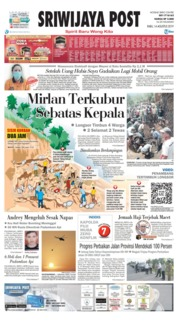 Sriwijaya Post Cover 14 August 2019