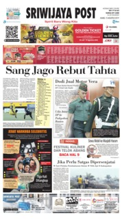 Sriwijaya Post Cover 15 August 2019