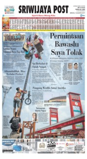 Sriwijaya Post Cover 18 August 2019