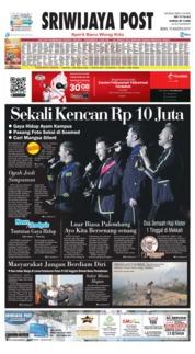Cover Sriwijaya Post 19 Agustus 2019